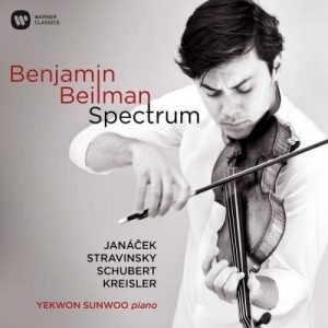 Spectrum Album with Violinist Benjamin Beilman