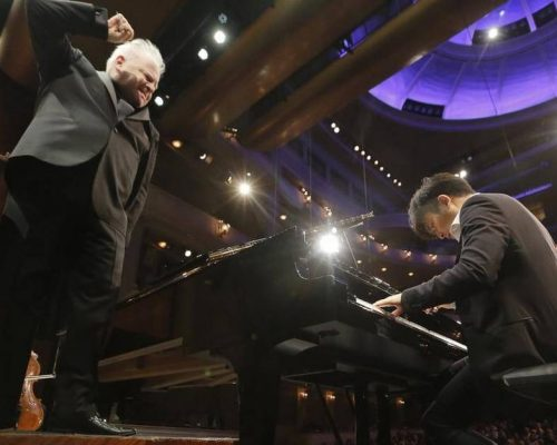 Cliburn Yekwon Finals with Slatkin