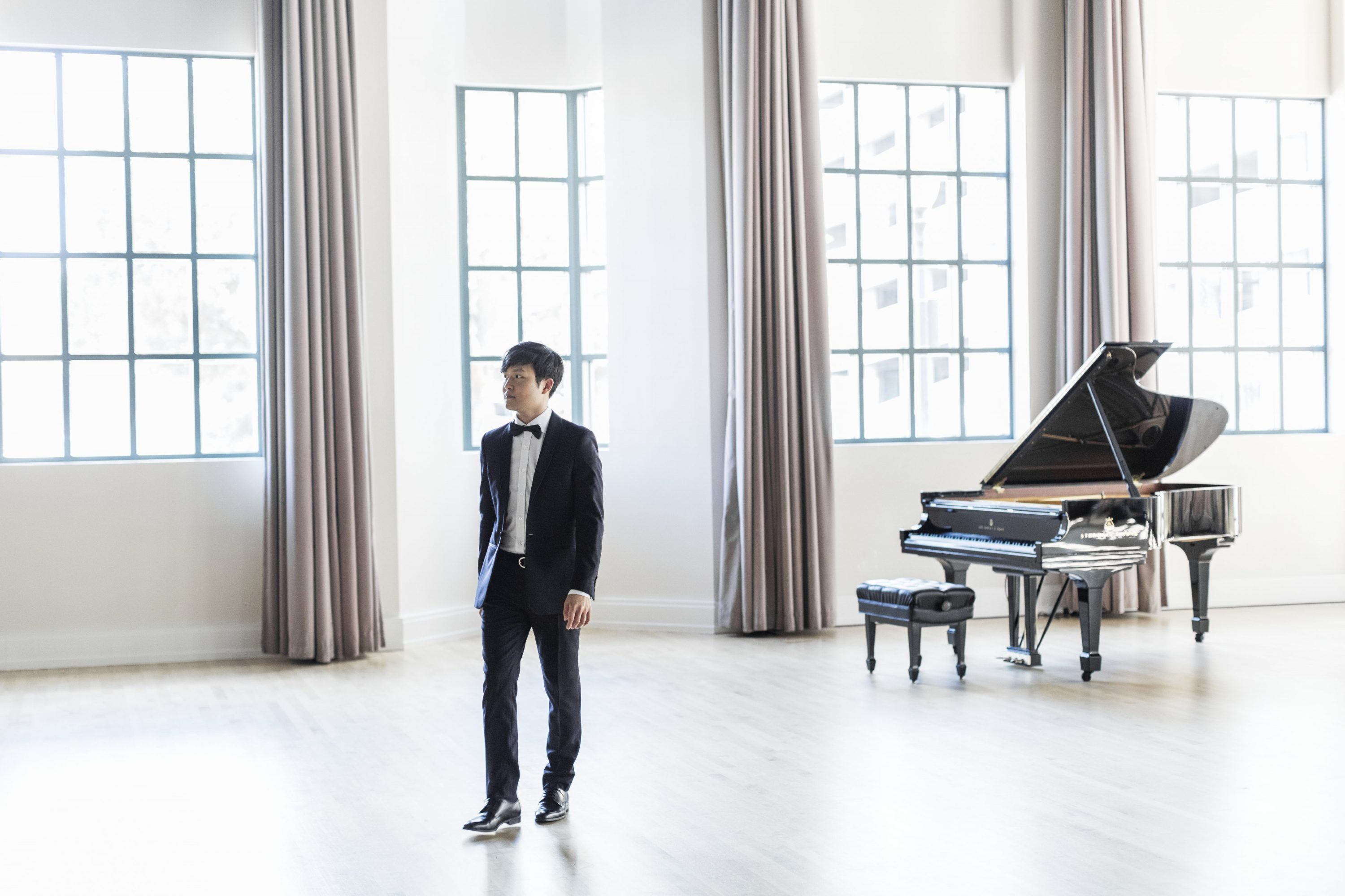Yekwon Sunwoo in Hall with Piano